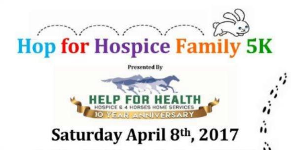 Hop for Hospice Family 5K