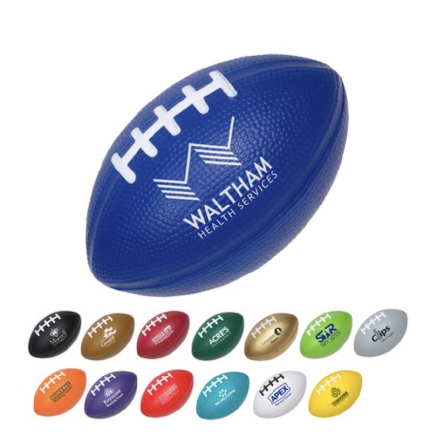 Medium Football Stress Ball (Purple)