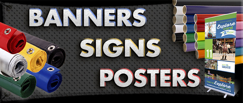 Banners Posters Signs