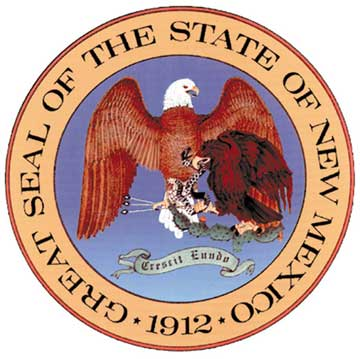 W32360 - Seal of the State of New Mexico Wall Plaque