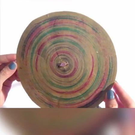 Drill Spin Art