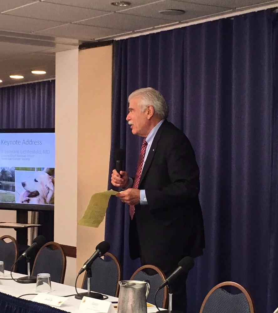 Dr. Len Lichtenfeld, American Society delivers Keynote Address