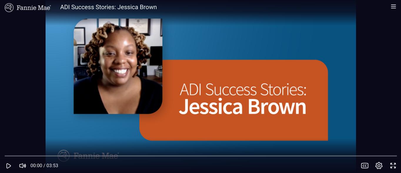 ADI Success Stories: Jessica Brown