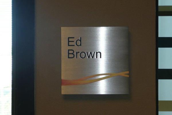 Executive Name Plaque