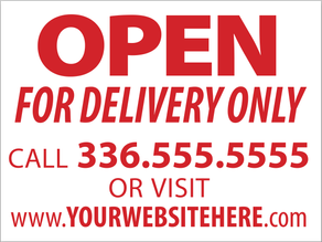 FOR DELIVERY ONLY