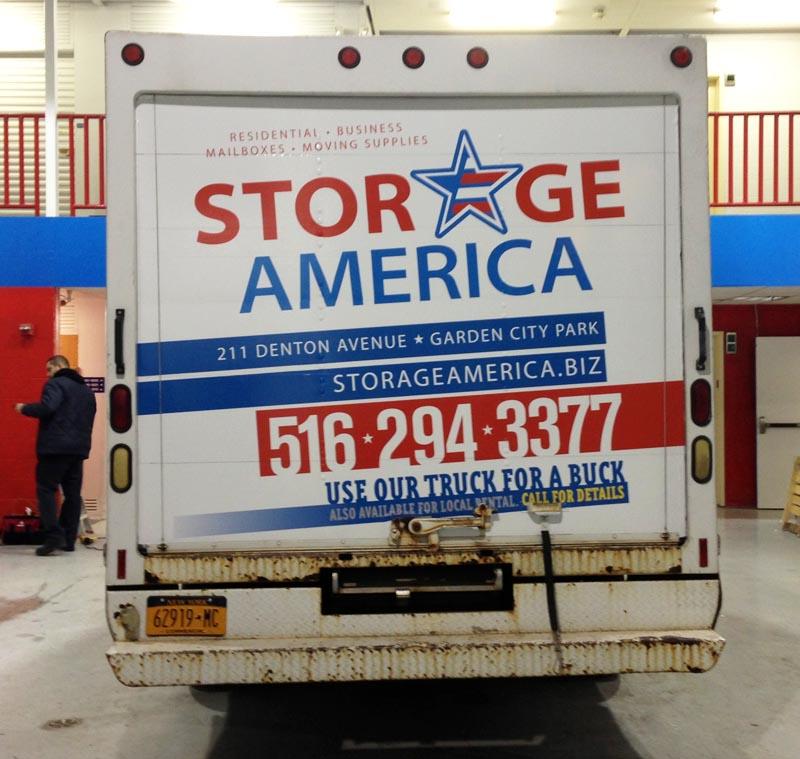 Storage America Back