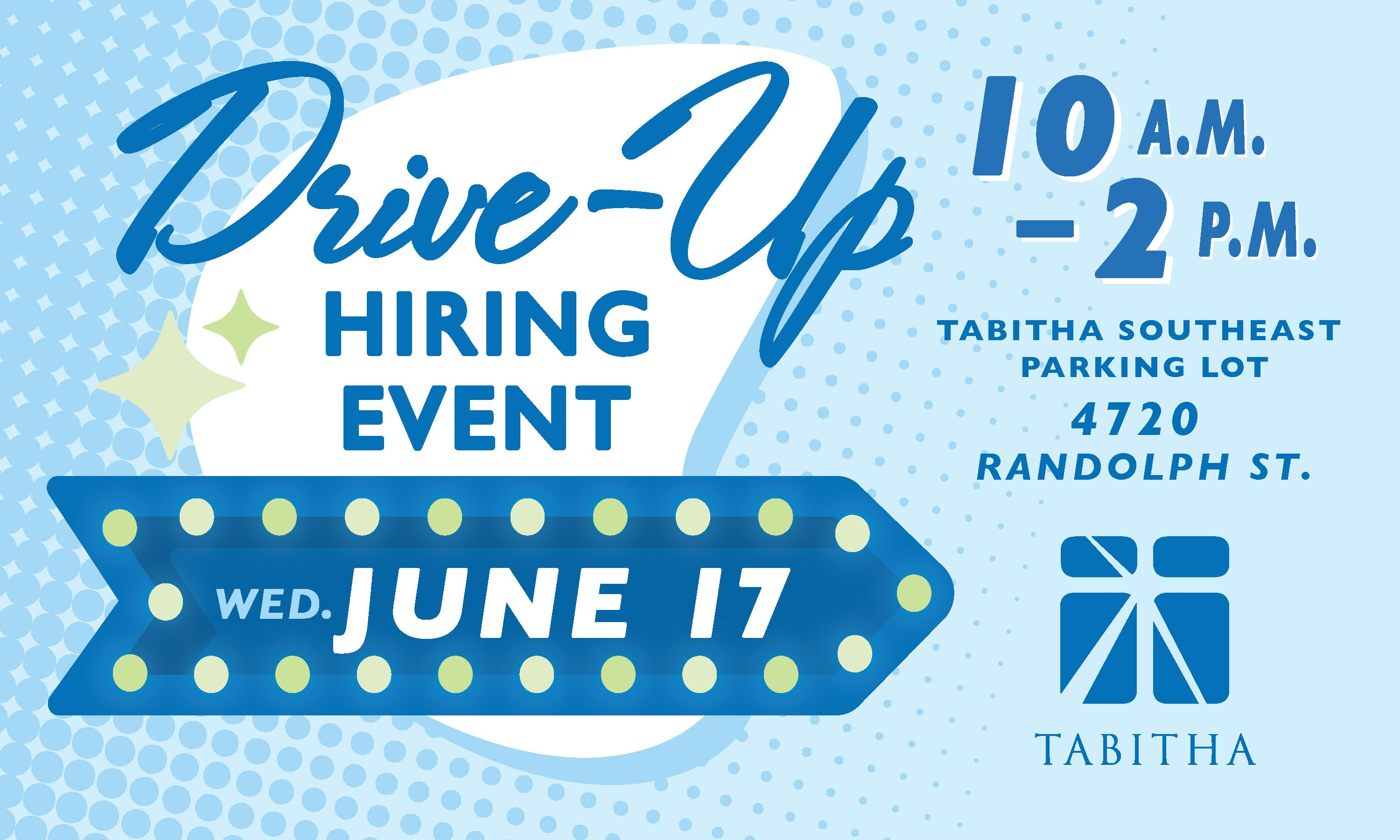 Drive-Up Hiring Event