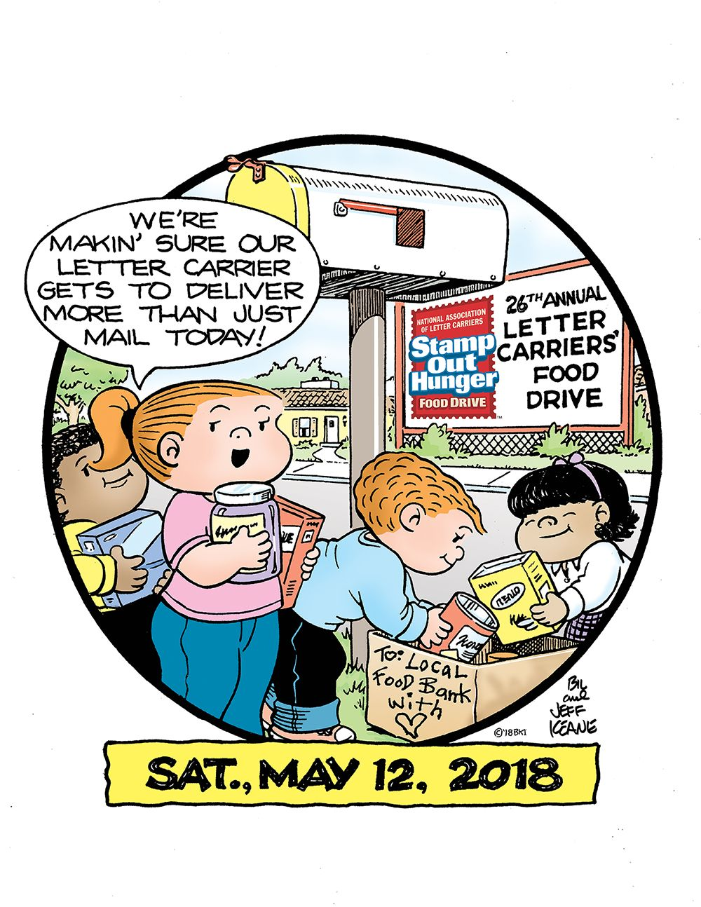 Stamp Out Hunger Food Drive set for Saturday, May 12
