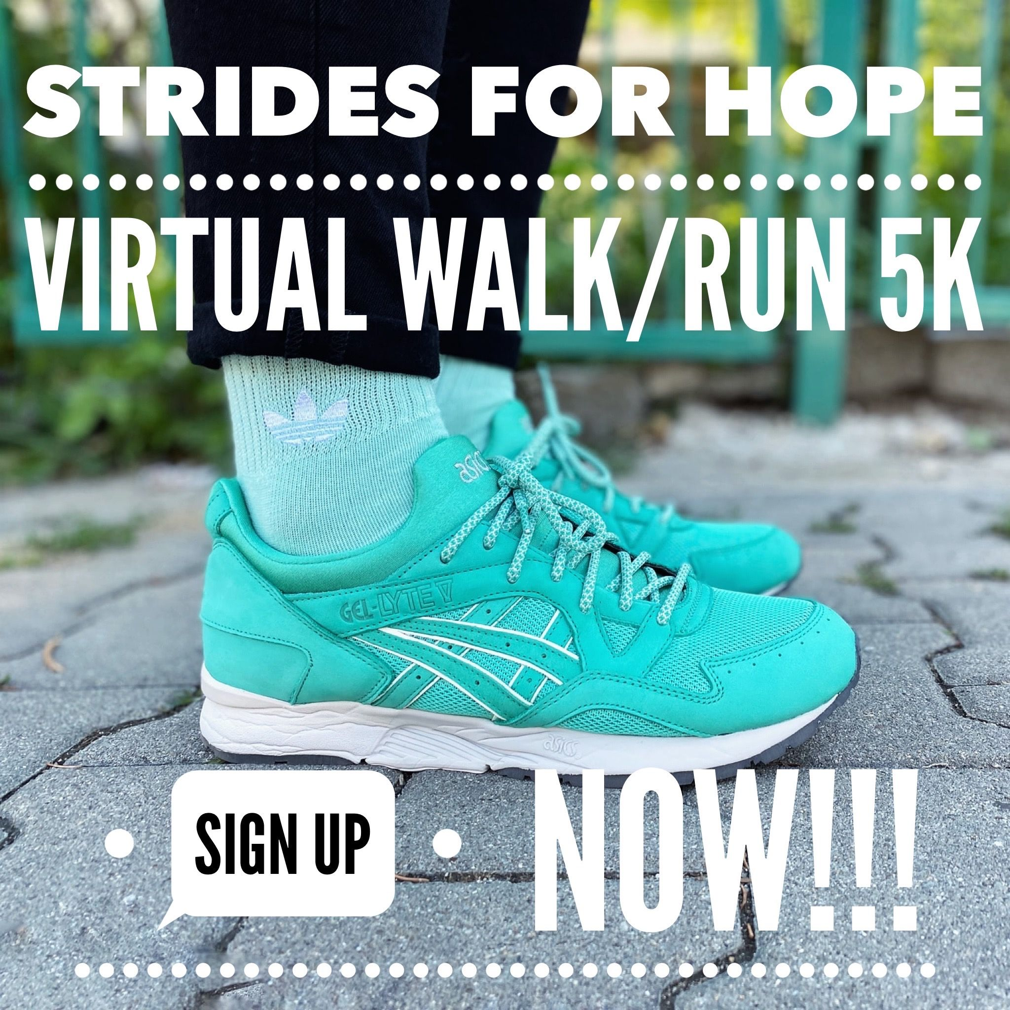 Strides for Hope Virtual 5K Walk / Run