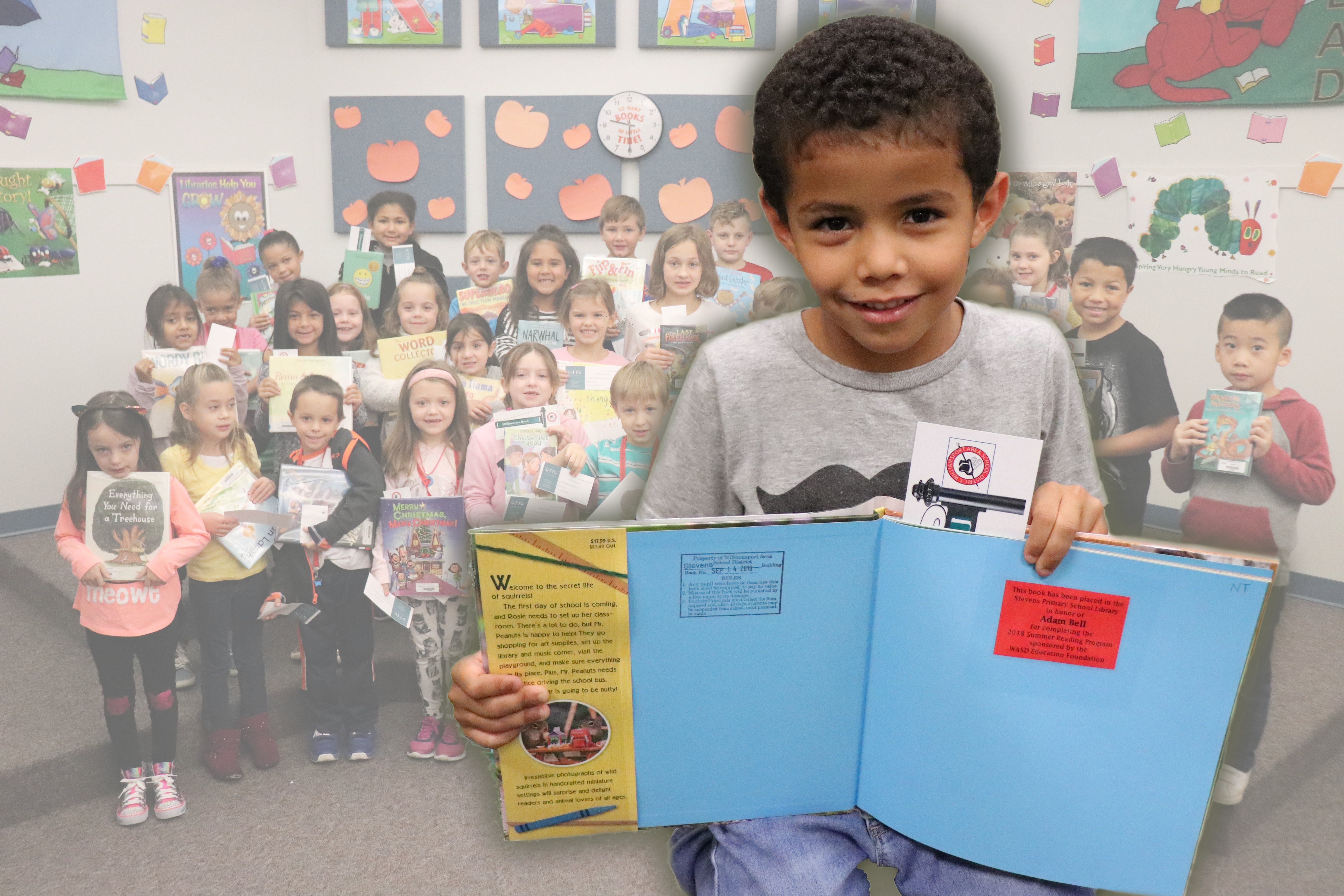 WASDEF Awards 152 Books to Summer Readers, Elementary Libraries
