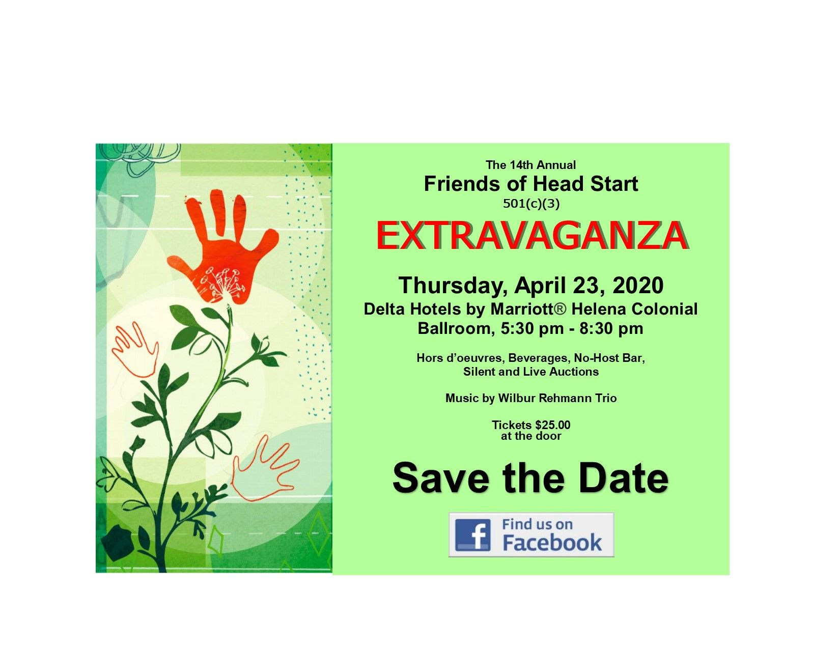 Friends of Head Start EXTRAVAGANZA