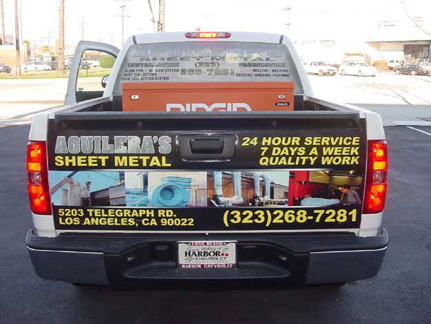 VEHICLE VINYL WITH ONE WAY MESH