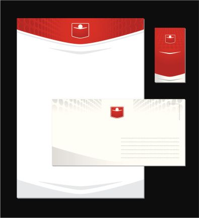 Stationery Materials- Letterhead, Envelopes