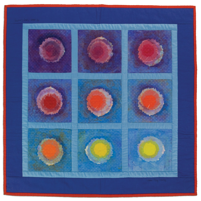 'Moonrise on Jupiter,' 2000, screenprinted, 30 x 30 in, IQSCM 2010.014.0004
