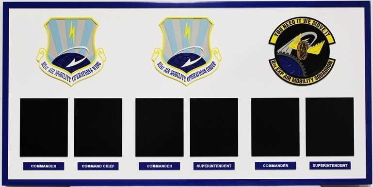 SA1085 - Chain-of-Command Board for Three Air Mobility Units