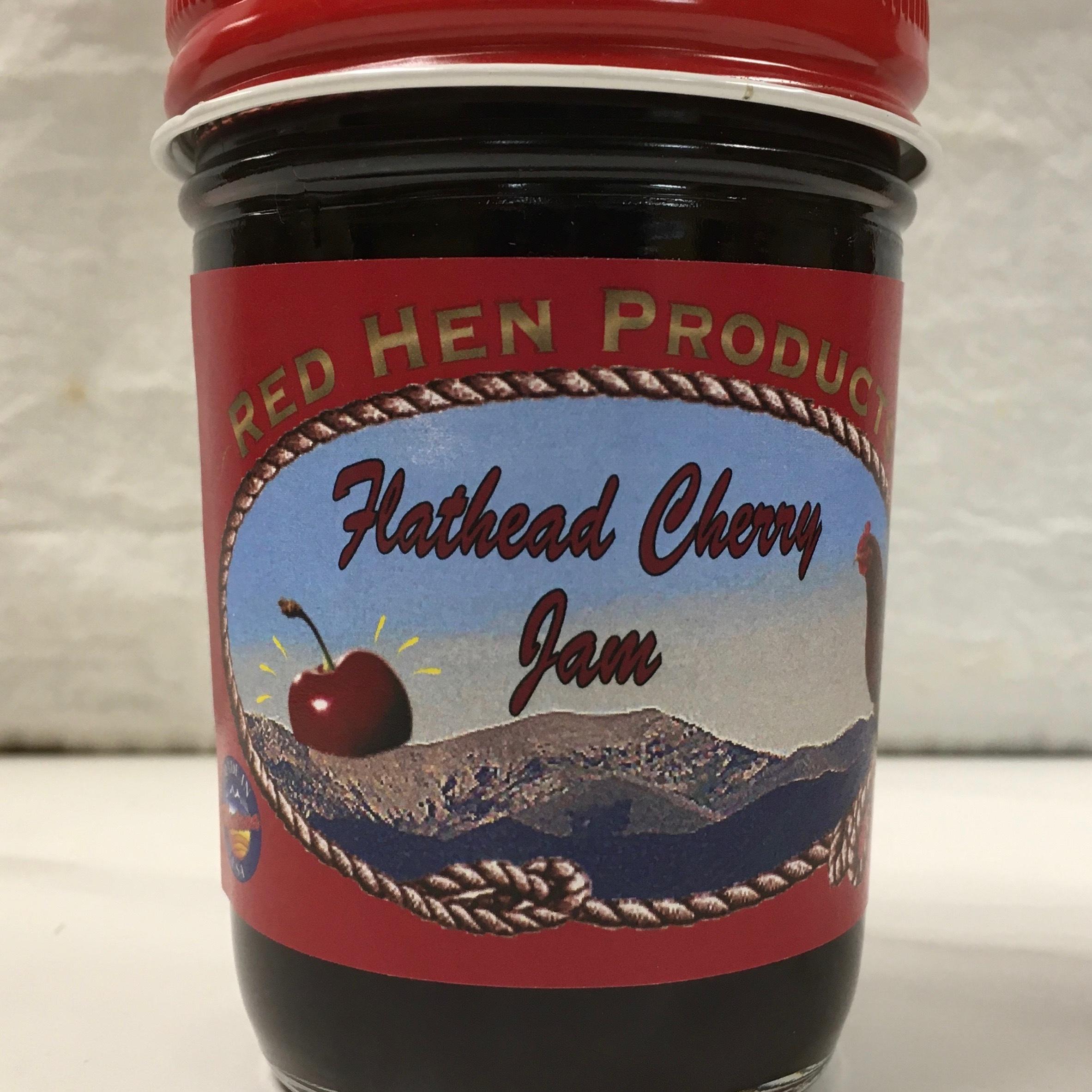 Red Hen Flathead Cherry Jam