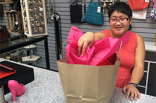 A new store, a different job, a perfect fit for Abby