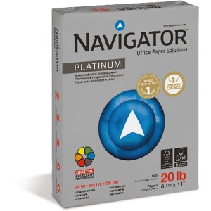 Navigator Platinum 20lb Specification Sheet
