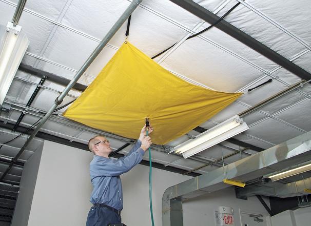 A01HC110 Roof Leak Diverter
