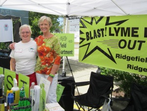 BLAST volunteers at Ridgefield Summer Fest