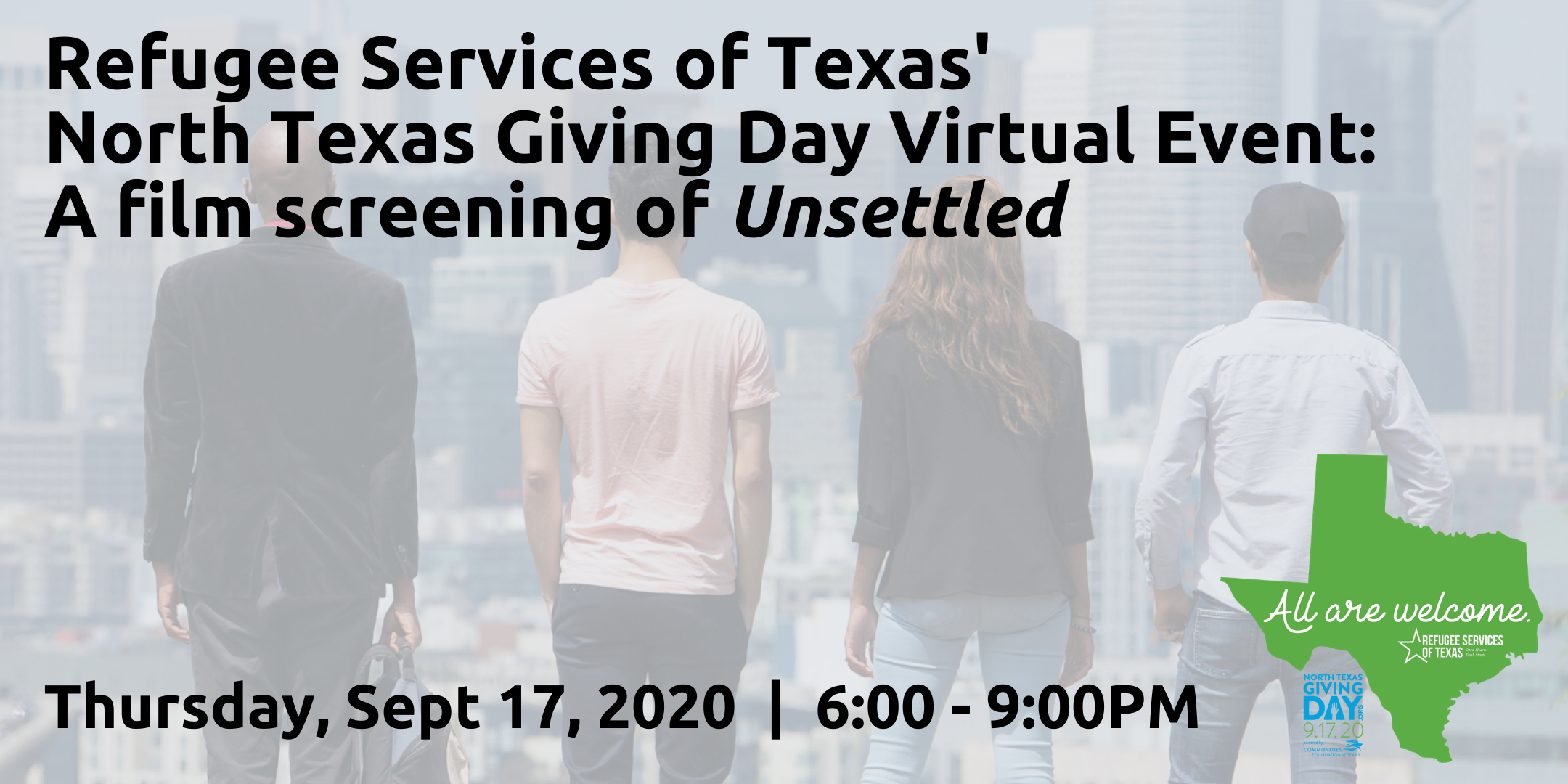 North Texas Giving Day Virtual Film Screening + Panel Discussion