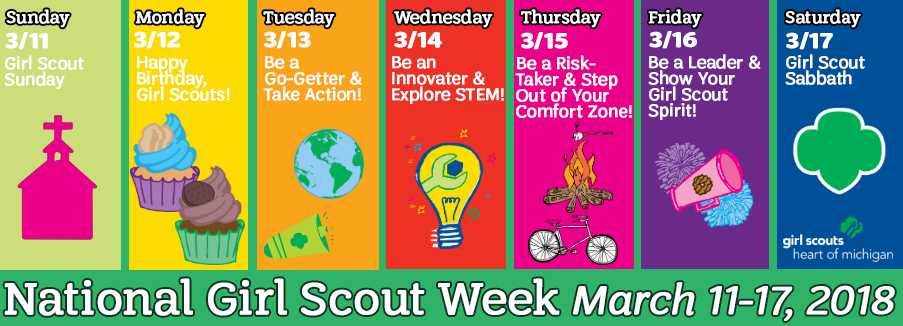 Girl Scout Week 2018