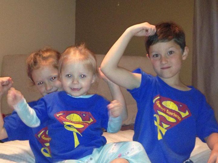 Karges kids thinking of Sammy!
