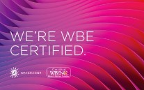 We're WBE Certified