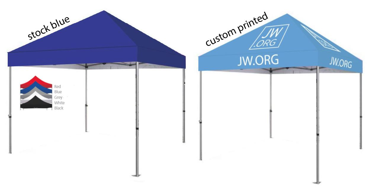 Standard 10' Tent