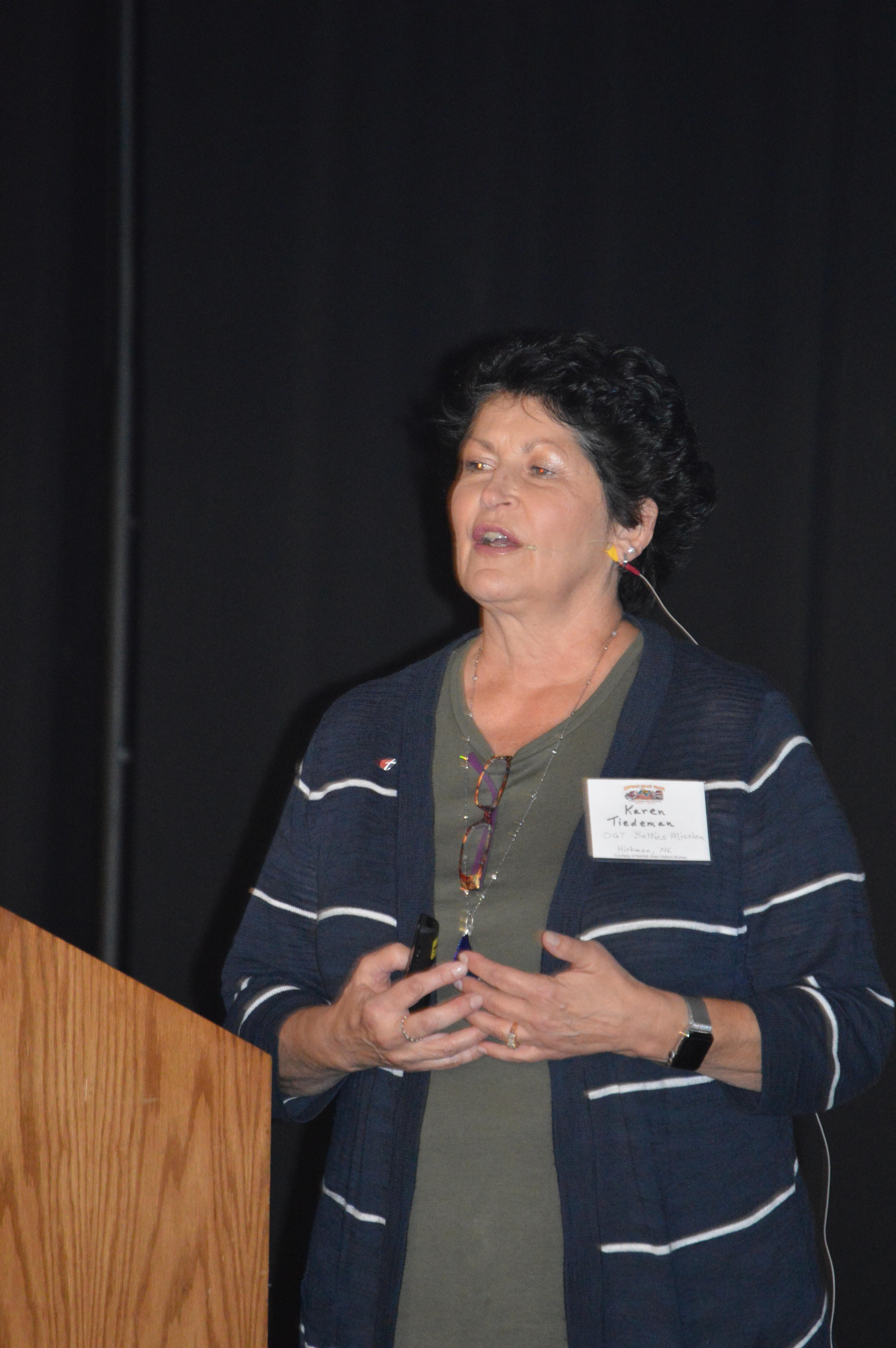 Karen Tiedeman - Baltics Missions