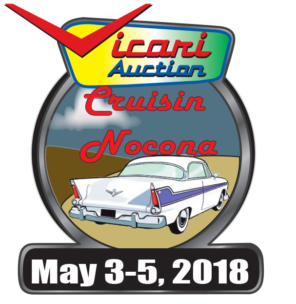 Cruisin' Nocona! May 3rd, 4th & 5th