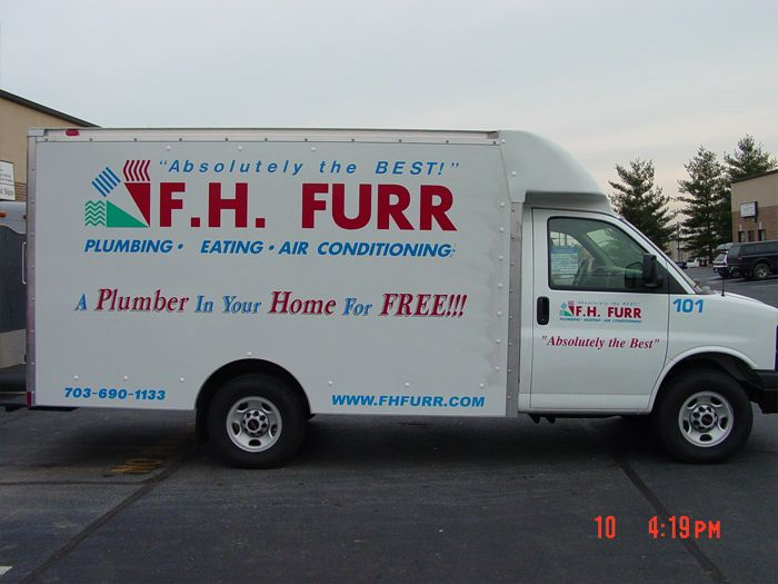 FH Furr Truck Graphics