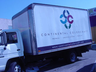 CONTINENTAL COLORCRAFT TRUCK