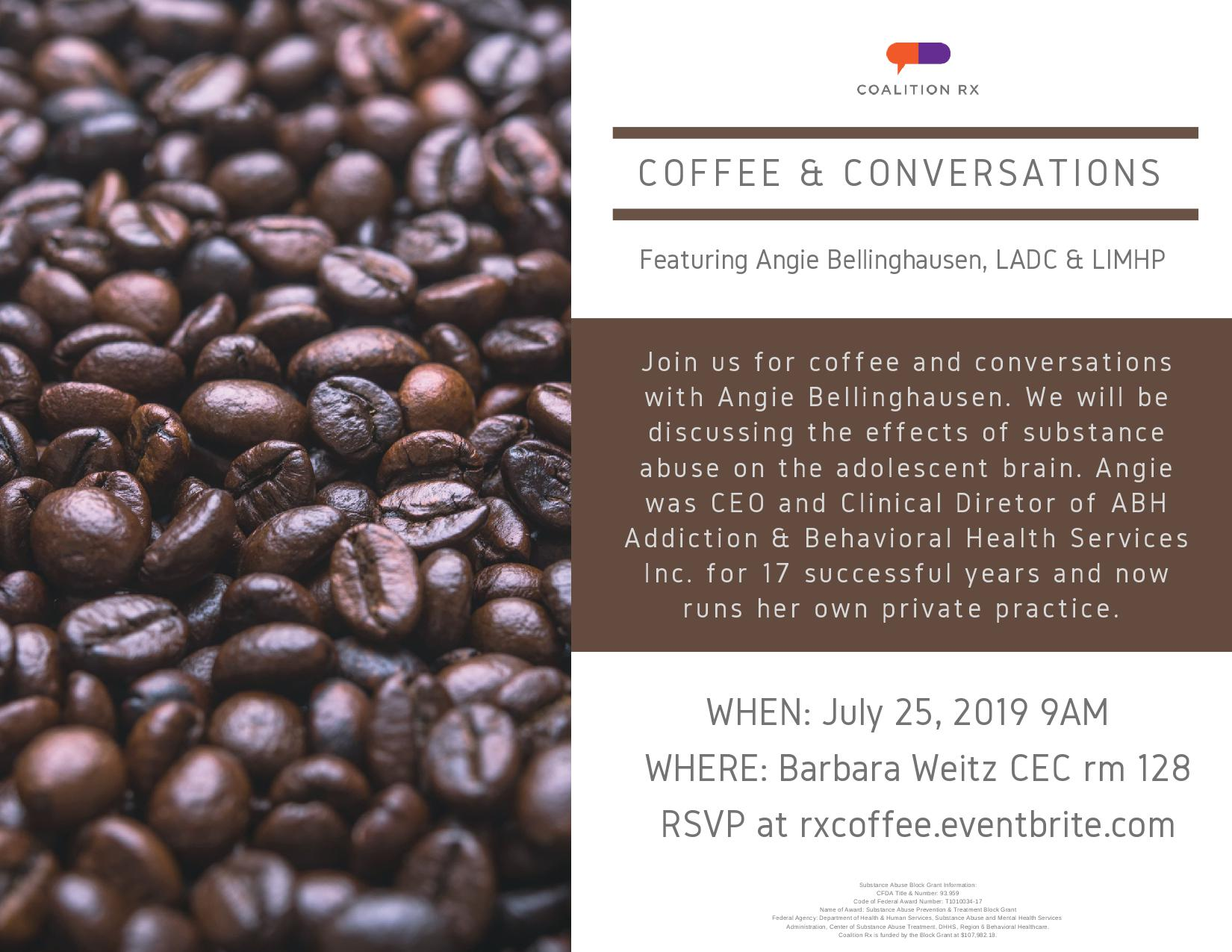 Coffee and Conversations with Angie Bellinghausen