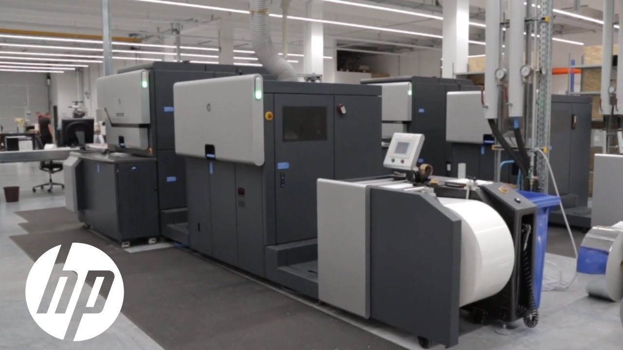 HP Indigo 6900 Label Printing Press
