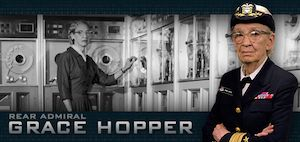 1906: Birth of Grace Hopper - computer pioneer and U.S. Navy Rear Admiral