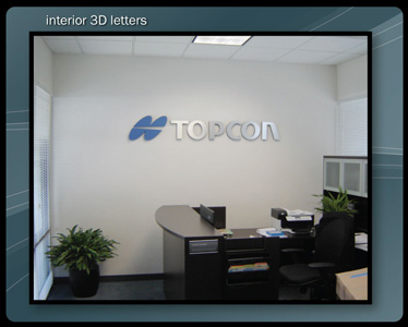 Corporate Lobby Signs & Interior Signs