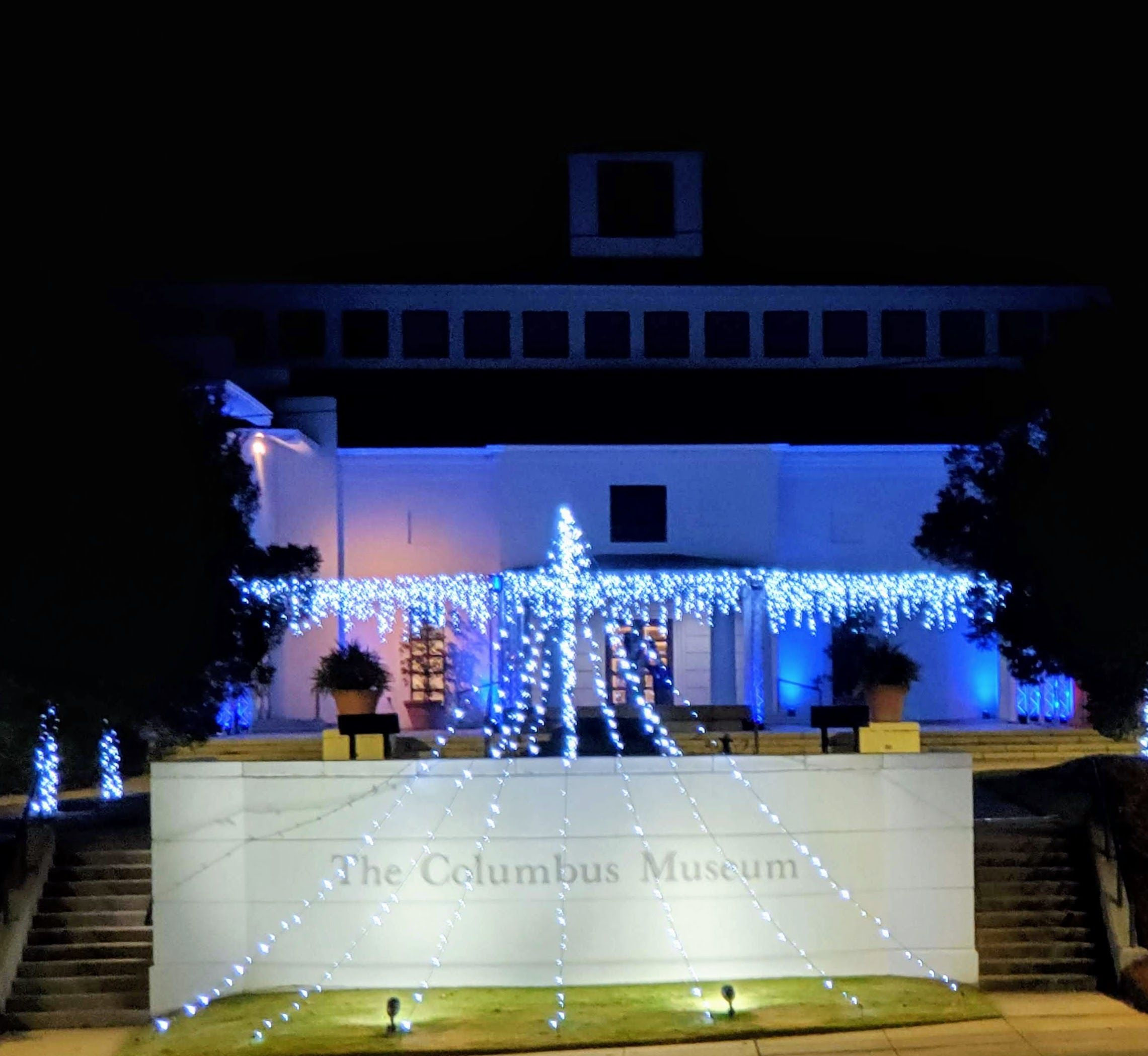 Christmas Lights at The Columbus Museum