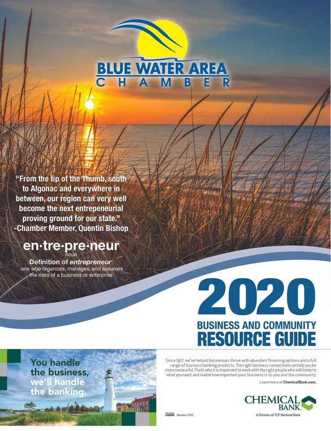 2020 - Blue Water Area Chamber Business & Community Resource Guide