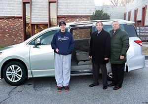 Norma F. Pfriem Foundation Donated Four Vehicles to  The Kennedy Center for Its Regional Transportation System