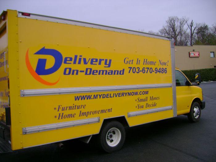 Delivery on Demand Van Graphics