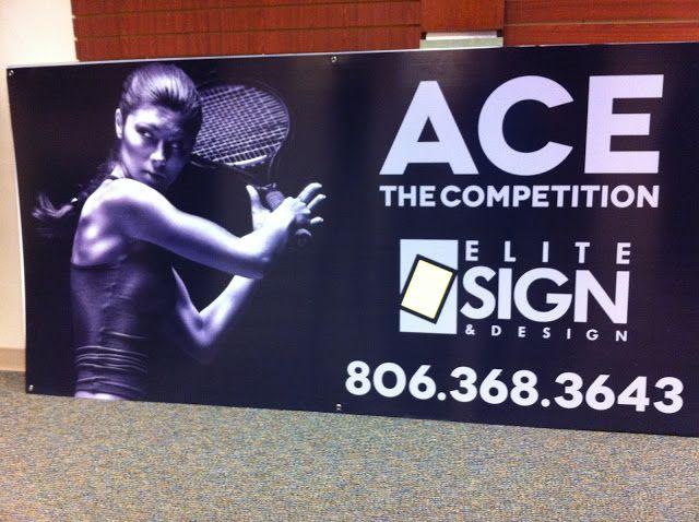 Promotional Signs Lubbock, TX - Elite Sign & Design