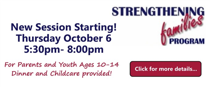 New Session of Strengthening Families Program Starting