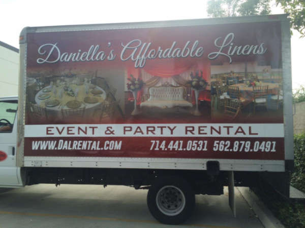 Box Truck Wraps for Linen and Uniform Businesses in Orange County