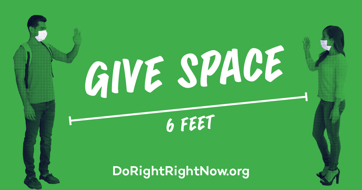 Twitter - Give Space