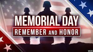 Memorial Day - State Offices Closed