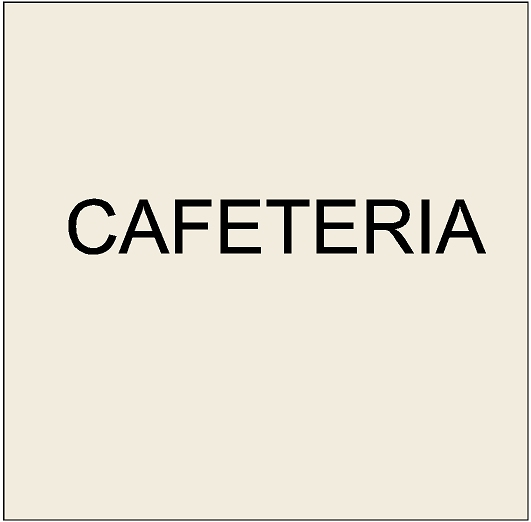 Q25500 - 5. Signs for Cafeterias