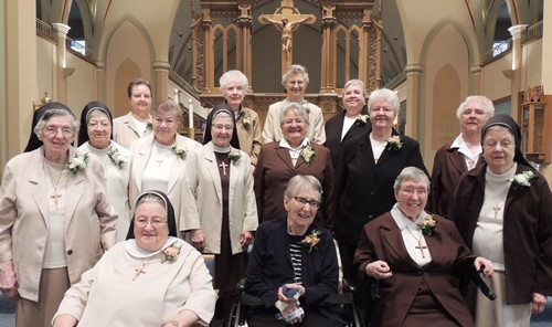 Fifteen Jubilarians Honored in Chicago