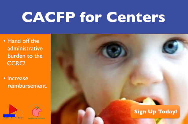 CACFP for Centers - Sign Up Today!