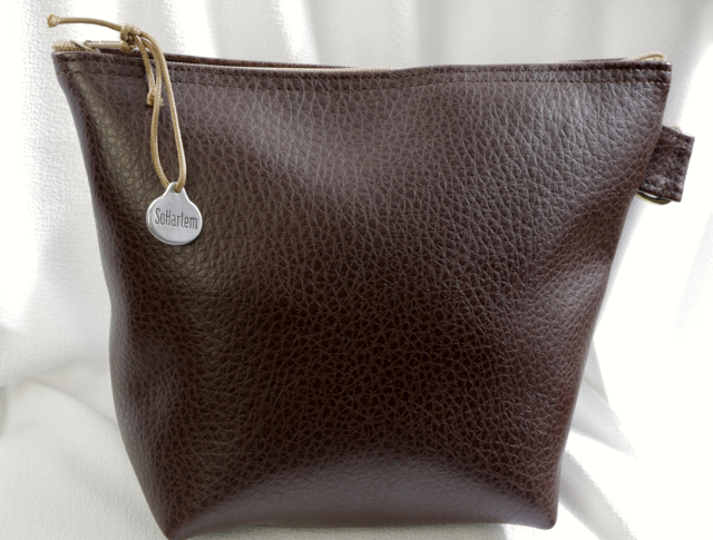 Pleather Pouch
